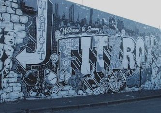 Wall by Everfresh, Melbourne; photograph by Alison Young